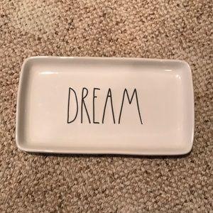 Rae Dunn Dream Tray